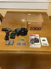 Nikon D300 12.3 Mp Digital Slr Camera - Body only with accessories