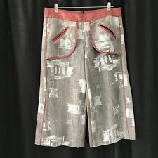 Wide Leg Apron Pocket Costume Steampunk Burning Man Pants LARP