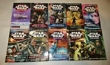 Star Wars lot of 13 science fiction paperbacks in the The New Jedi order series