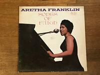Aretha Franklin LP - Songs of Faith - Checker LP-10009