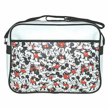 More details for official disney mickey mouse repeat messenger shoulder sports school bag