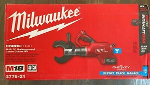 """Milwaukee 2776-21 M18 FORCELOGIC 3"""" Underground Cable Cutter Kit"""
