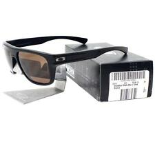Oakley OO 9199-04 BREADBOX Matte Black Frame Dark Bronze Mens Sports Sunglasses