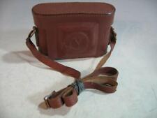 Vintage Voigtlander Leather Fitted Case With Shoulder Strap #38