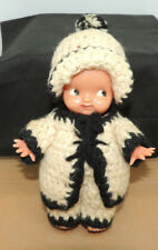 Irwin Baby Doll with Crocheted Winter Clothes 6 inches tall (14668)