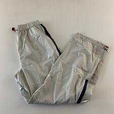 Vintage Nautica Competition Pants Men's Size L Tan Beige 100% Polyester