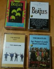 THE BEATLES cassette tape lot (4) Help Songbook Sgt Peppers