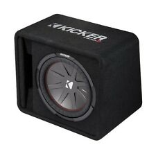 Kicker 12 Inch 1000W Subwoofer Enclosure Box, Certified Refurbished | 43VCWR122