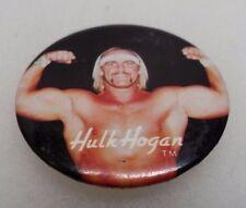 1985 Titan Sports Hulk Hogan Lapel Pin Button Rare