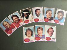 Lot cartes NFL Tampa Bay Buccaneers Topps 1976 1980 1981 Football Américain