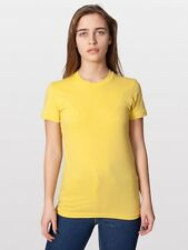 American Apparel NWT Sustainable Edition Dijon Yellow Orangic Cotton Crewneck 2X