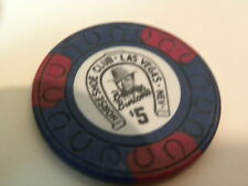 7 Casino Tokens $5 Las Vegas Horseshoe $1 Terribles Diamond Jos Marina & cheroke