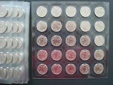 LOT 25 Münze x 25 Rubel 2014 Russland Russische UNC Olympia Sotschi Sochi Russia