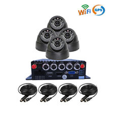 4CH GPS WIFI 1080P AHD SD Car DVR MDVR Video Recorder Realtime View 4* Cameras