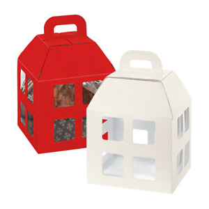 Boxes Basket Packages Gift Lantern 20 x 20 For 25 CM White Panettone 750 Gr