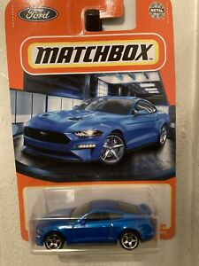 2021 MATCHBOX METAL #31/100 2019 FORD MUSTANG COUPE •BLUE•