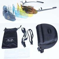 New Cycling Riding Bicycle Bike UV400 Sports Sunglasses Eyewear Goggle 5 Lens