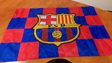 FCB Barcelona Logo Fan Flag Football Club Wembley 2011 Champions League Final
