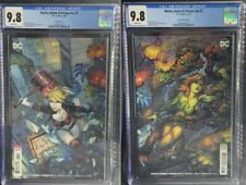 Harley Quinn Poison Ivy #3 Cgc 9.8 Finch Connecting Variant Set Box7