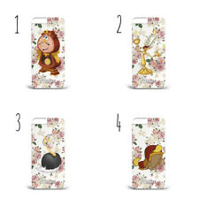Personalised Beauty and the Beast CharacterPLASTIC Phone Case for IPHONE