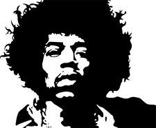 Jimi Hendrix Iron On Transfer For T-Shirt & Other Light Color Fabrics #2