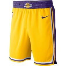 New Nike 2019/2020 Los Angeles Lakers Icon Edition Swingman Performance Shorts
