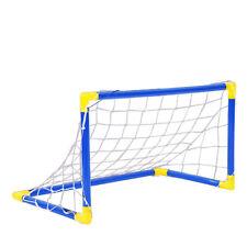 47 Inch Soccer Goal Set Of 2 Portable Football Net Outdoor Training Sport Goals