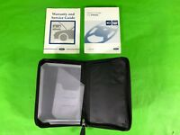 FORD FIESTA MK6 OWNERS MANUAL GUIDE HANDBOOK + WALLET CASE 2002-2008