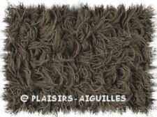 10 pelotes de laine PHIL FOURRURE TAUPE Neuves