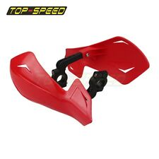 Plastic Red Dirt Bike HAND GUARD FOR Honda Yamaha Suzuki KTM and Polaris ATV TOP