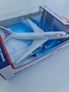 British Airways Boeing 747-400 DieCast Airplane - Model Aircraft - New Free p&p