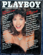 "Magazine PLAYBOY December 1985 BARBI BENTON-12 PAGES ""CAROL FICATIER-CENTERFOLD"""