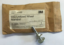 3M 933 Mandrel for unitised wheels (1 off)
