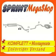 Auspuff Ford Mondeo 1.8 2.0 110/125/146 PS 2000-2007 Schrägheck Abgasanlage 0293