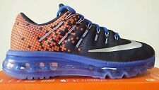 NIKE AIR MAX 2016 BLU ARANCIO N.38 NEW COLOR SPETTACOLARI RUNNING OKKSPORT
