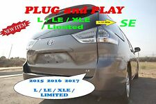 2017 TOYOTA SIENNA L LE XLE LIMITED TO SE MODEL TAILLIGHT CONVERSION - SET