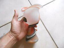 Jolie Coupe vase Tulipier Verre Poli style art déco
