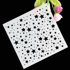 Star Emboss Fondant Cake Stencil Mould Border Side Lace Icing Sugarcraft Decor A