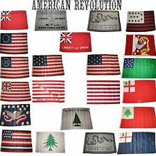 3x5 3'x5' Wholesale Lot Set Historical American Revolution 22 Flags Flag
