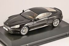 ASTON MARTIN DB9 COUPE in Black 1/43 scale model by OXFORD DIECAST