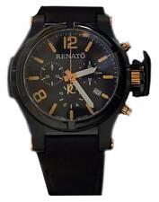 New Mens Renato Generation II T-rex Aviator Orange Marker Watch