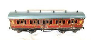 AC1791: Bing for Bassett-Lowke O Gauge 1st Class Passenger Coach for Repair