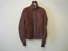 Rick Owens Intarsia 'Vintage' Leather Jacket