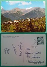 Mione di Rumo - Val di Non - Panorama col gruppo delle Maddalene 1992