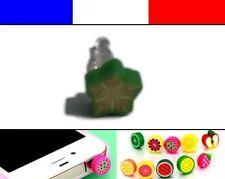 Cache anti-poussière jack universel iphone protection capuchon bouchon FRUIT 2
