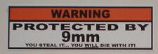 Helmet Decal Aufkleber Sticker für  Chopper Harley Motorrad superbike  warning