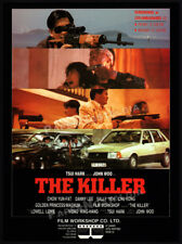THE KILLER__Original 1989 Trade AD / promo__JOHN WOO__CHOW YUN-FAT__DANNY LEE