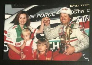 JOHN FORCE NHRA Drag Racing Race Car Driver Auto Autographed Signed 4x6 Photo 2