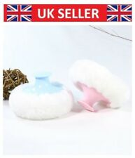 Baby Soft Face Body Cosmetic Beauty Large Powder Puff Sponge Makeup Tool Bowknot