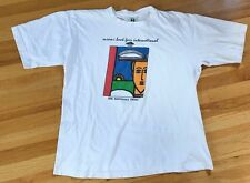 Vintage Cross Colours Tee T Shirt 90s Hop Hop Rap Miami Florida Kriss Kross